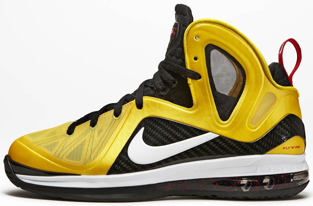 more photos 529c8 54e86 Nike LeBron 9 P.S. Elite Varsity Maize Black White 516958-700 (1)