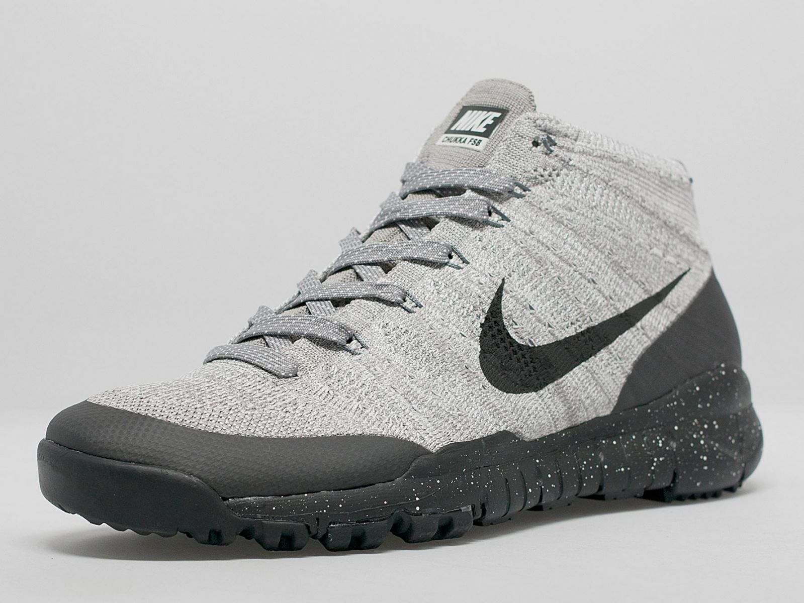 89bce80583c9 Nike Flyknit in rugged mode on the Trainer Chukka FSB.