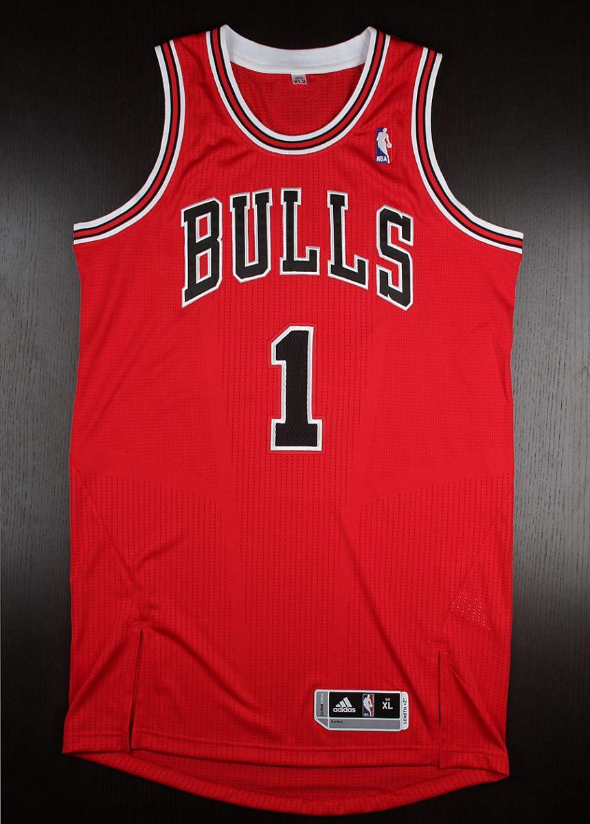 bulls 1 jersey