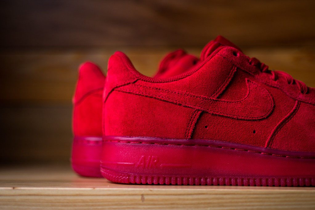 great prices 100% genuine best shoes You Can Buy the 'Red Suede' Nike Air Force 1 Low Now | Sole ...