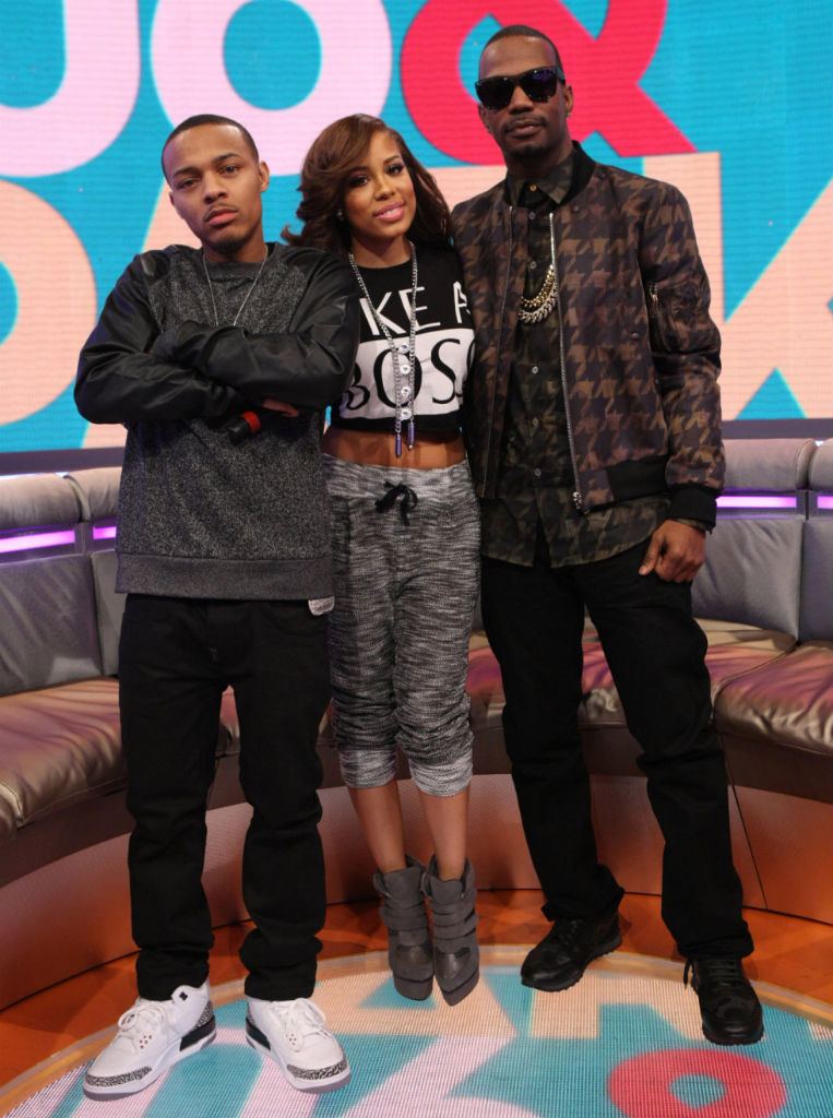 Bow Wow wearing Air Jordan III 3 Retro '88 Cement