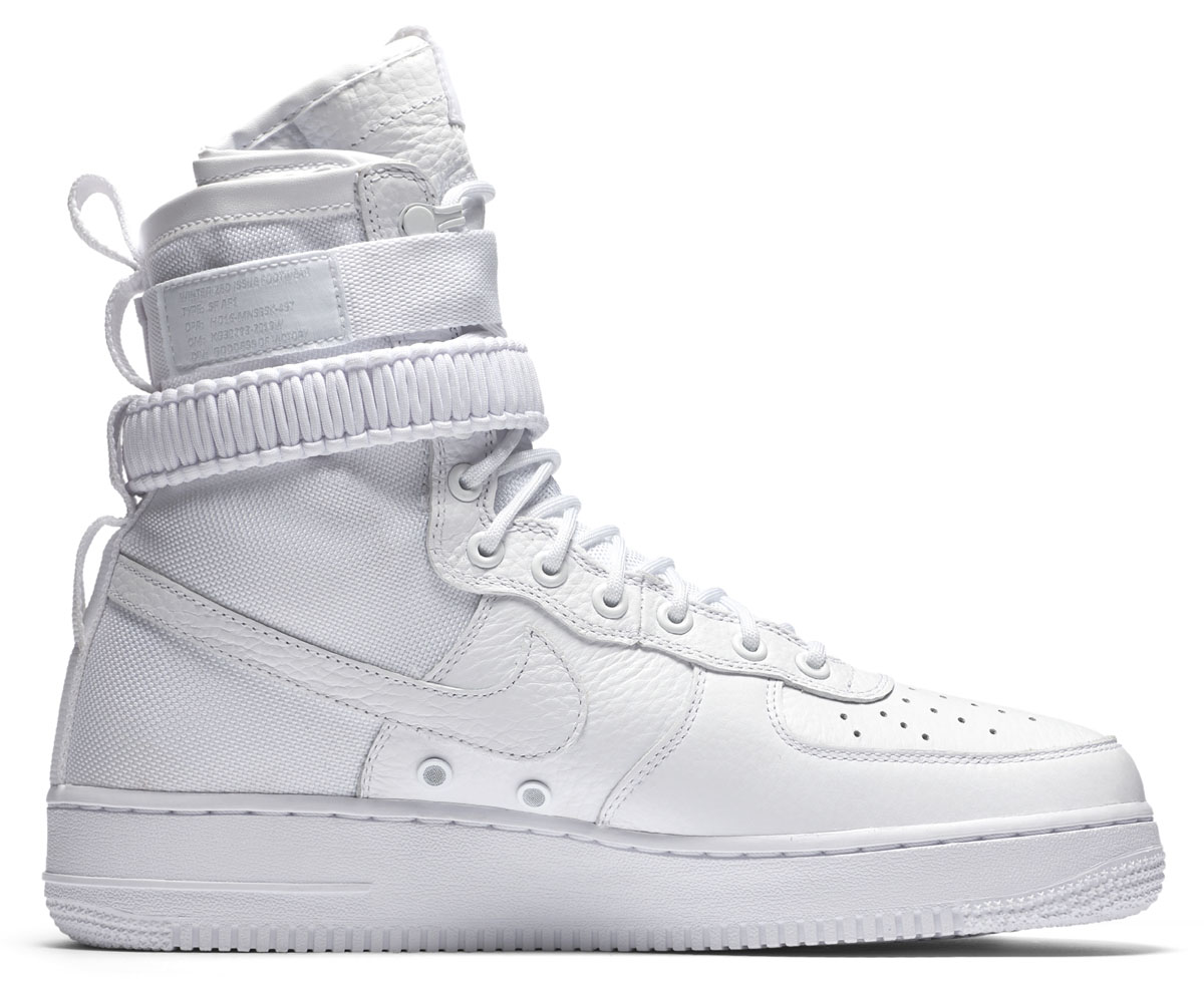 info for a8026 55c20 Nike AF Air Force 1 High White Release Date Medial 903270-100