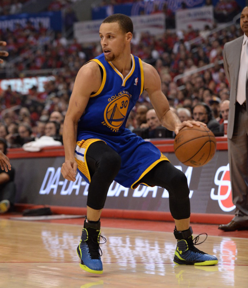 stephen curry debuts under armour clutchfit drive in nba