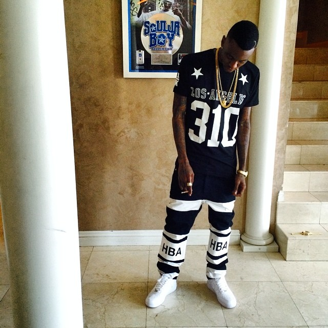 e98104547945d2 spain soulja boy wearing nike air force 1 f916a 94938