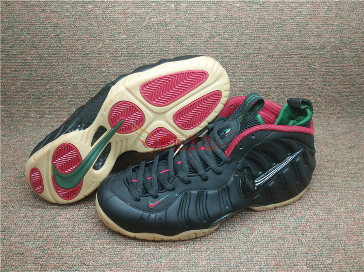 Nike Air Foamposite OneVarsity Red White Black Kith