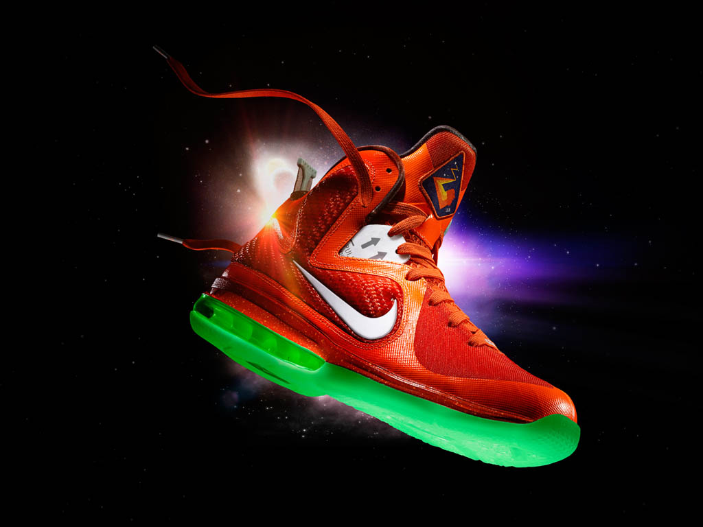 Lebron Basketball Shoes Galaxy
