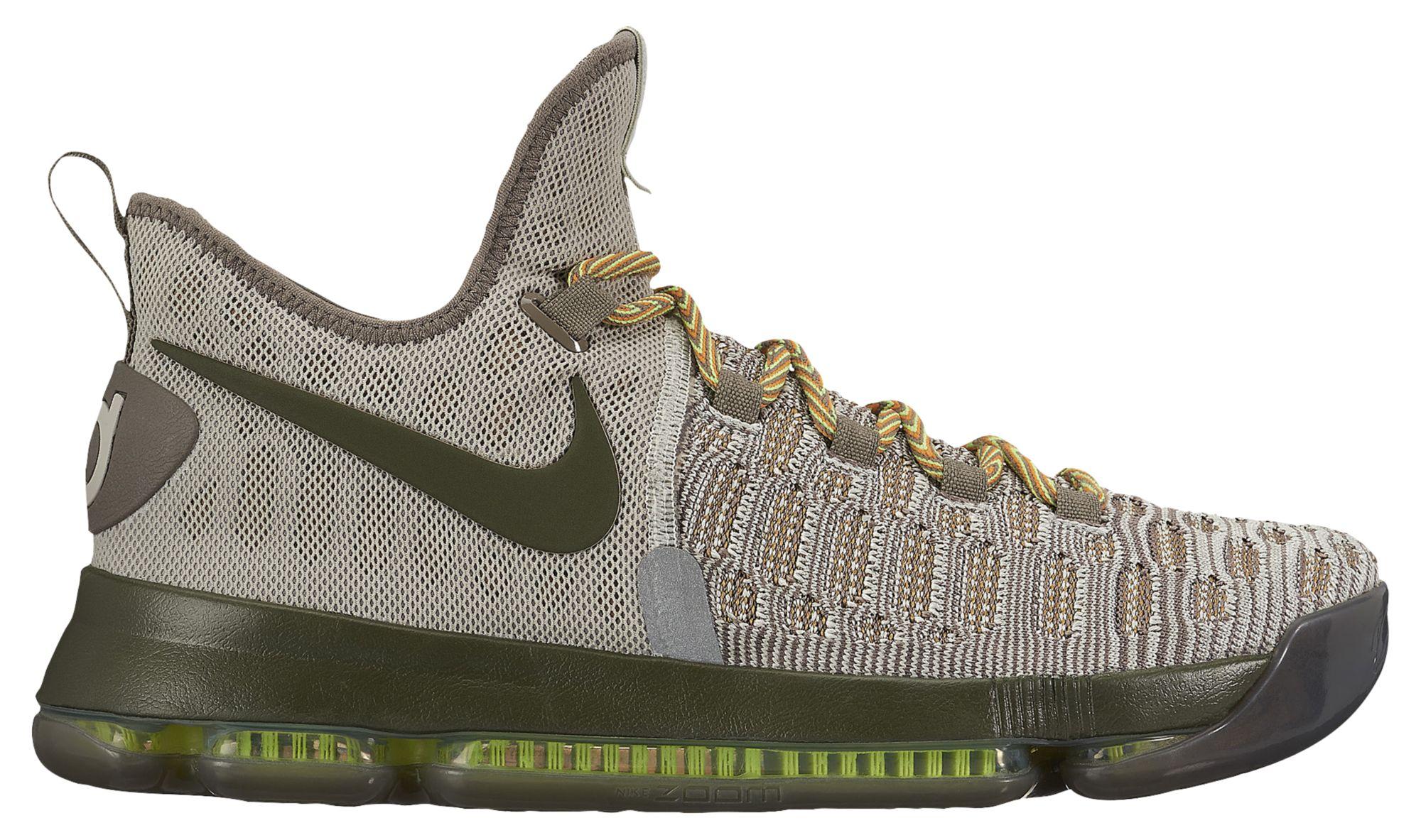 Nike KD 9 Cargo Green Release Date 843392-033