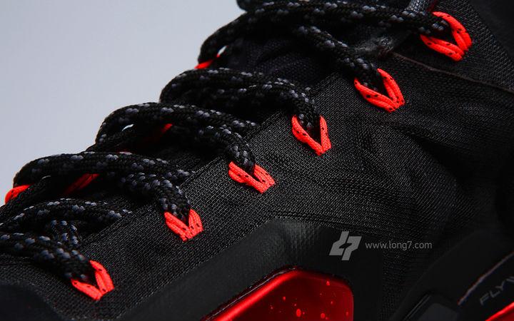 Nike LeBron XI Black Red Miami Heat Release Date 616175-001 (13) 687b6a64f