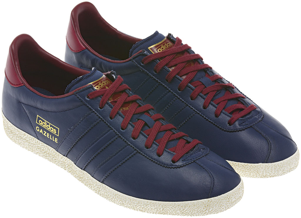 adidas Originals Gazelle OG - Winter 2013 Blue/Burgundy