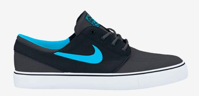 d75d1d5403d7 Nike Zoom SB Stefan Janoski Canvas Anthracite   Gamma Blue   Black