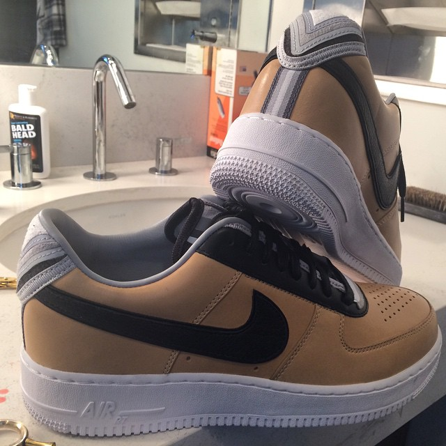 Bow Wow Picks Up Nike Air Force 1 RT Low Beige