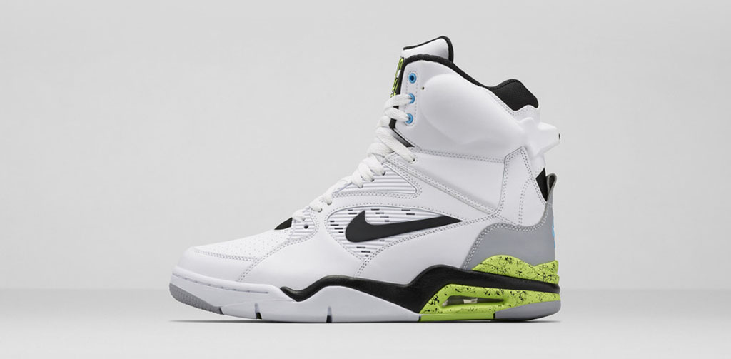 premium selection dc82c 0ef5f The  Volt  Nike Air Command Force hits nike.com as well as select Nike  Sportswear retailers on Saturday, November 8.