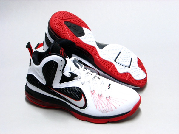 e53f2d26b2f Another colorway of the LeBron 9 that s set to drop very soon is this  all-new white-based Miami Heat home colorway.