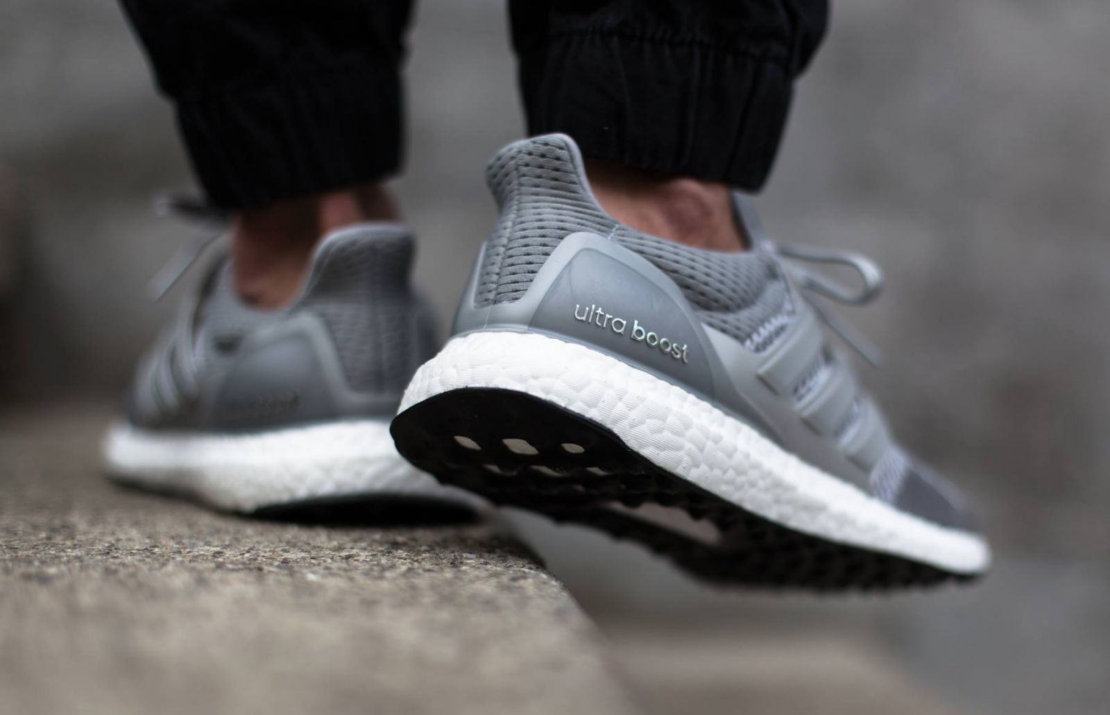 See How The Metallic Silver Adidas Ultra Boost Looks On