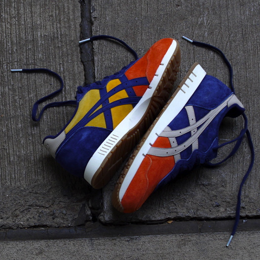 mita sneakers x Onitsuka Tiger X-Caliber Tequila Sunrise medial