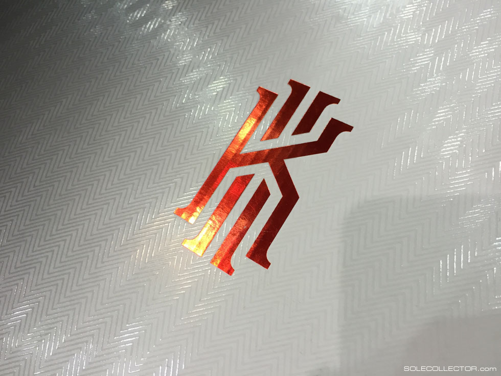 Packaging for the Nike Kyrie 1