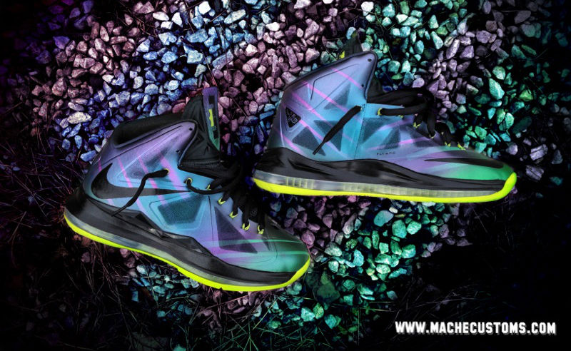 Nike LeBron X Phantom by Mache Custom Kicks (1)