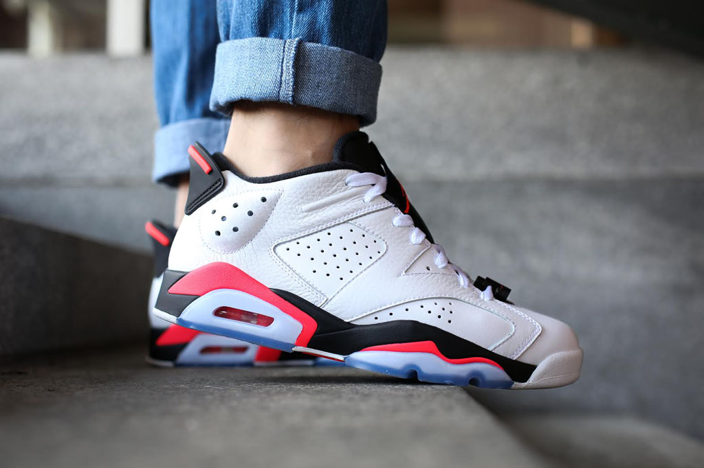 0bf030608c7 A Look at the Air Jordan 6 Low 'Infrared' On-Foot | Sole Collector