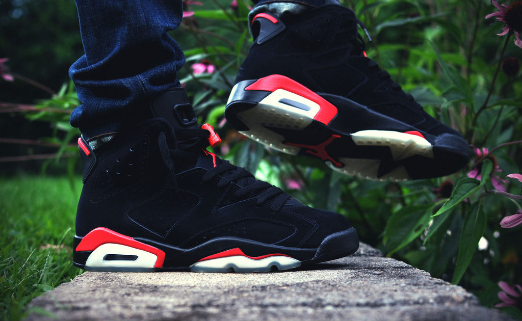 Spotlight // Forum Staff Weekly WDYWT? - 8.31.13 - Air Jordan VI 6 Retro Infrared by dalazz