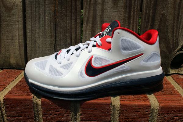 ec4370a4880 Nike LeBron 9 Low USA 510811-101 (1)