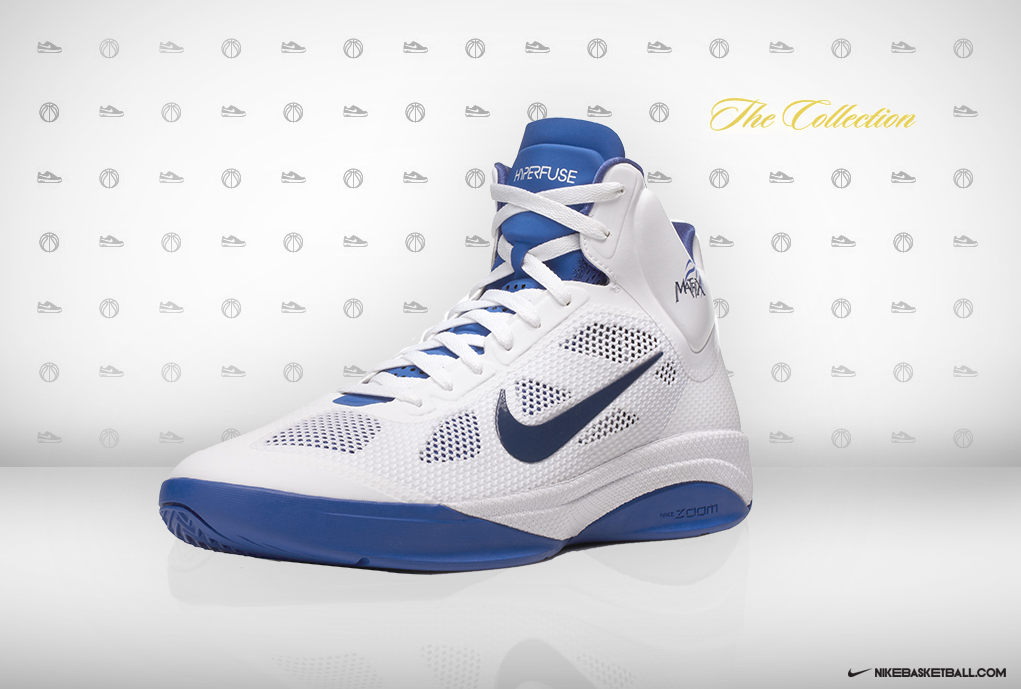 Nike Zoom Hyperfuse Shawn Marion Home Player Exclusive ... c33e355bc21
