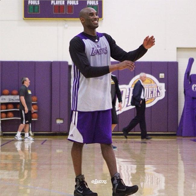 the latest 3be5e 24433 Sole Watch    Kobe Bryant Wears the Nike Kobe 9 Elite