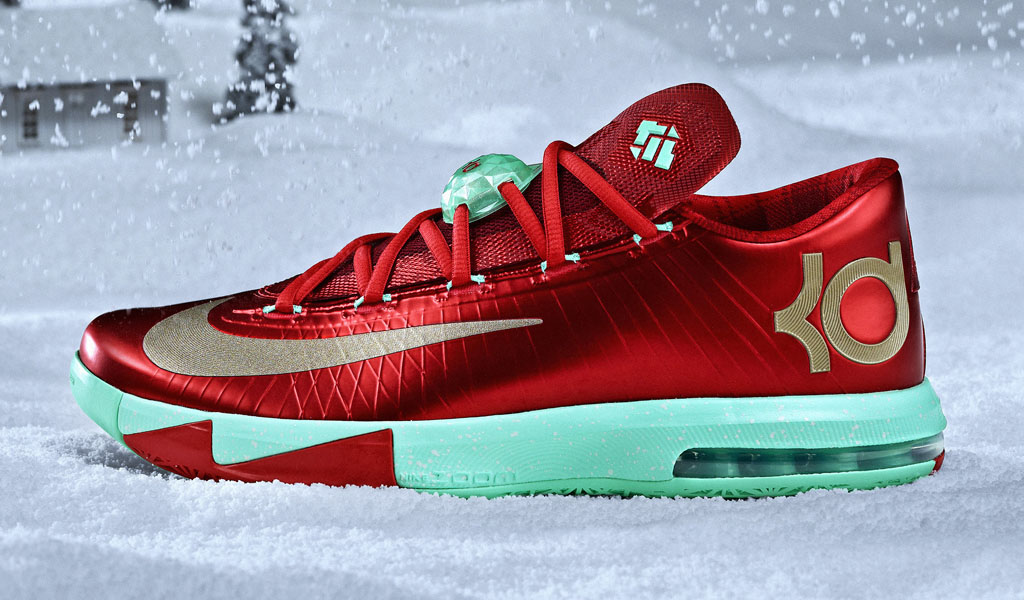 reputable site 6b95b 0bd55 Nike Basketball 2013 Christmas Pack    KD 6 (1)