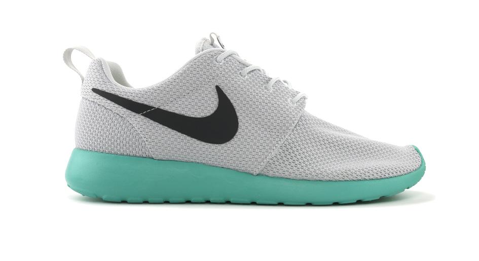 57329650374d Nike Roshe Run - Grey Teal