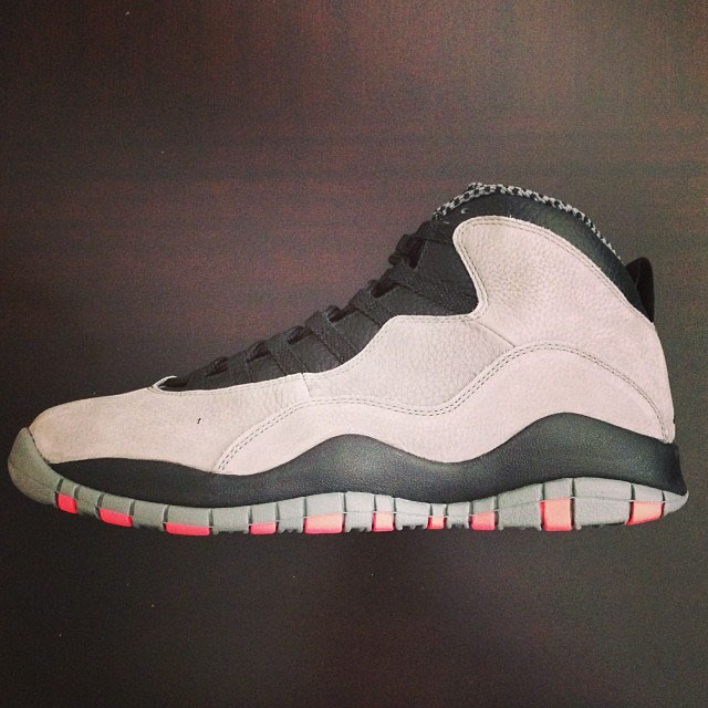 Fat Joe Picks Up Air Jordan 10 Cool Grey