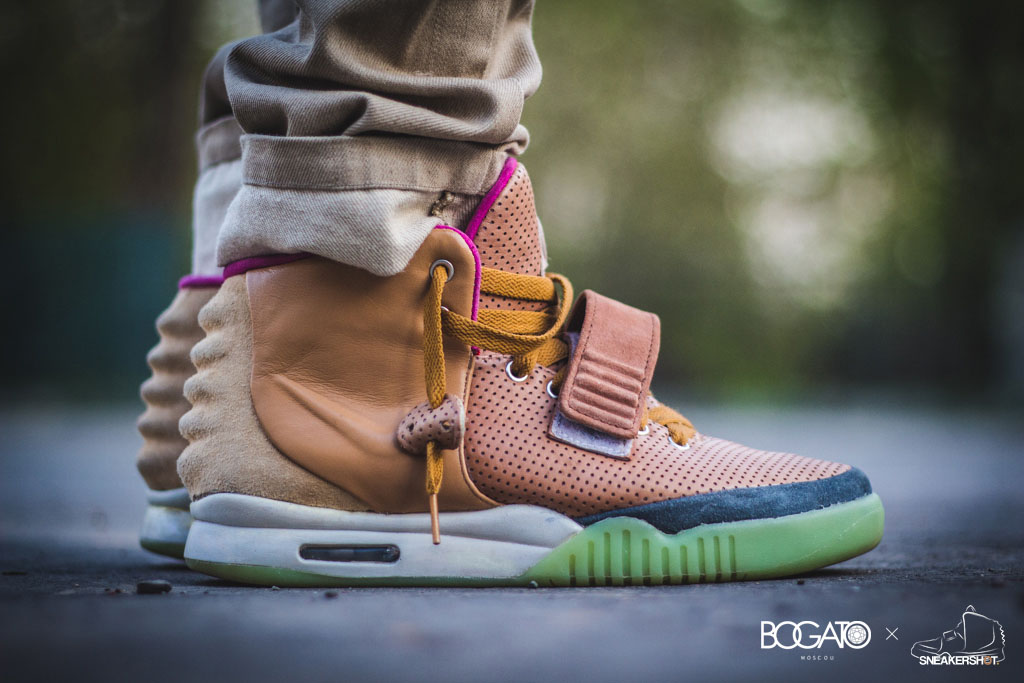 Nike Air Yeezy 2 'Net' by Maggi (2)