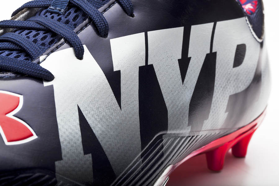 Under Armour's Commemorative 9/11 USA NFL Cleats
