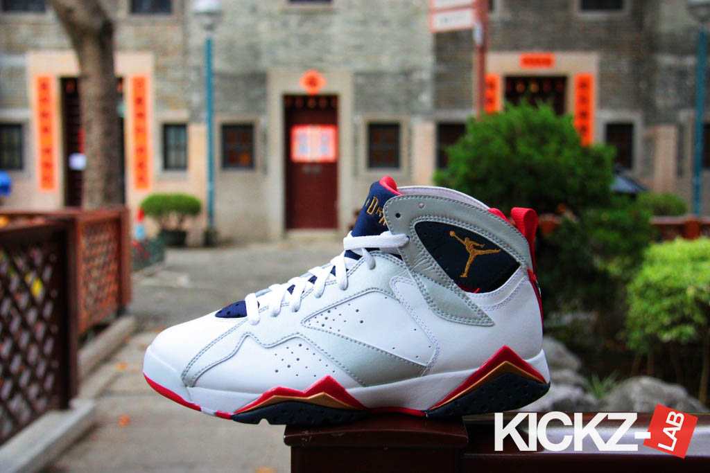 Air Jordan VII 7 Retro Olympic 304775-135 (5)