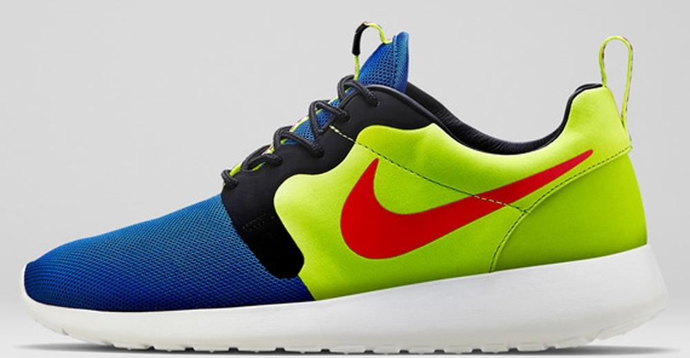 Nike Roshe Run HYP Premium Game Royal/Hyper Punch-Volt-Ivory