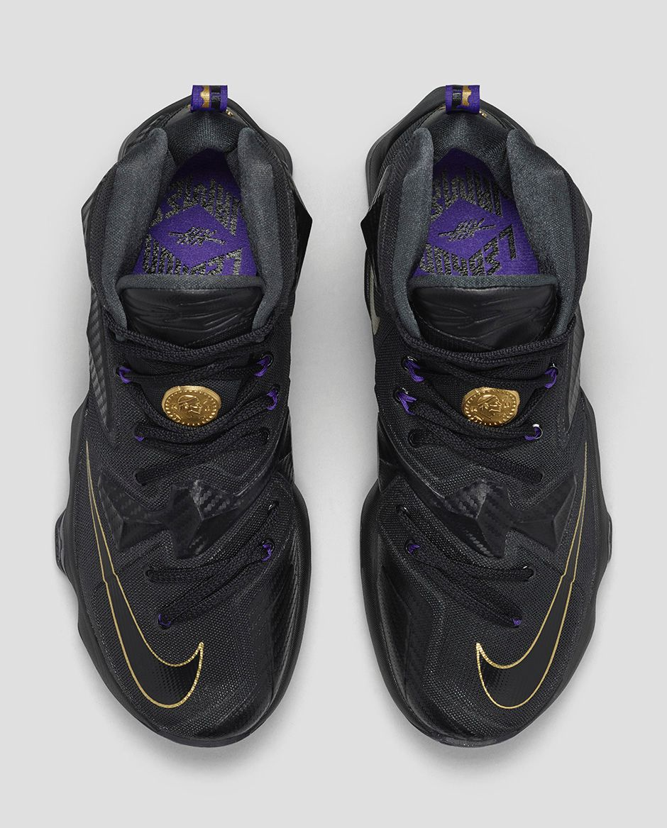 ba0c49e171a4 This Nike LeBron 13 Needed a Touch of Gold