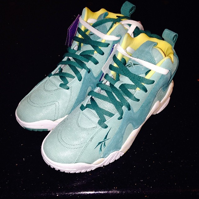 Soulja Boy Picks Up Reebok Kamikaze 2 Easter