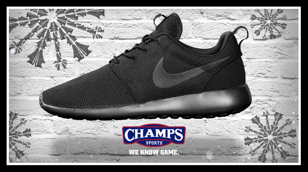 official photos fa05c 186b9 ... The Game Plan by Champs Sports Presents the Shoeflakes Nike Roshe One Nike  Roshe Run ...