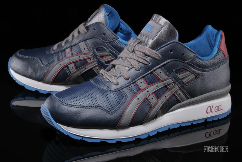 ASICS GT II in Navy and Grey