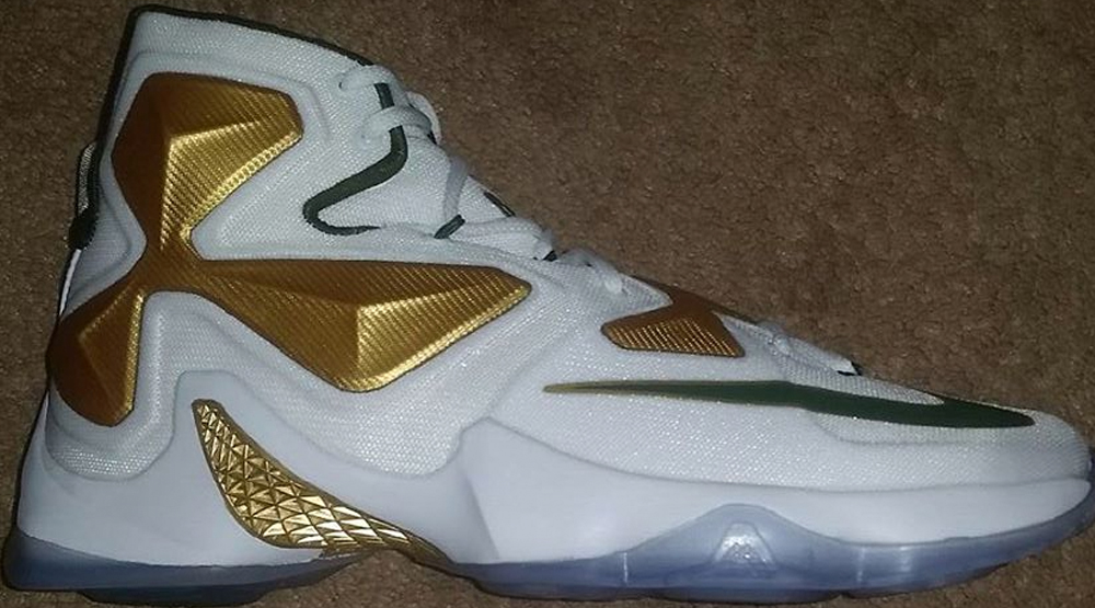 brand new f95d6 e2ece LeBron James High School Keeps Getting Nike Exclusives