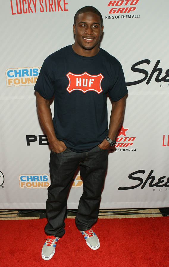 Chris Paul PBA Celebrity Bowling Tournament 2012 - Reggie Bush