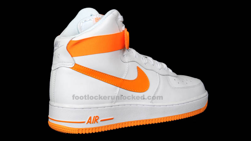 Nike Air Force 1 High White Vivid Orange 315121-180 (6)