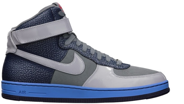Nike Air Force 1 Downtown High Cool Grey/Cool Grey-Midnight Navy-Distance Blue