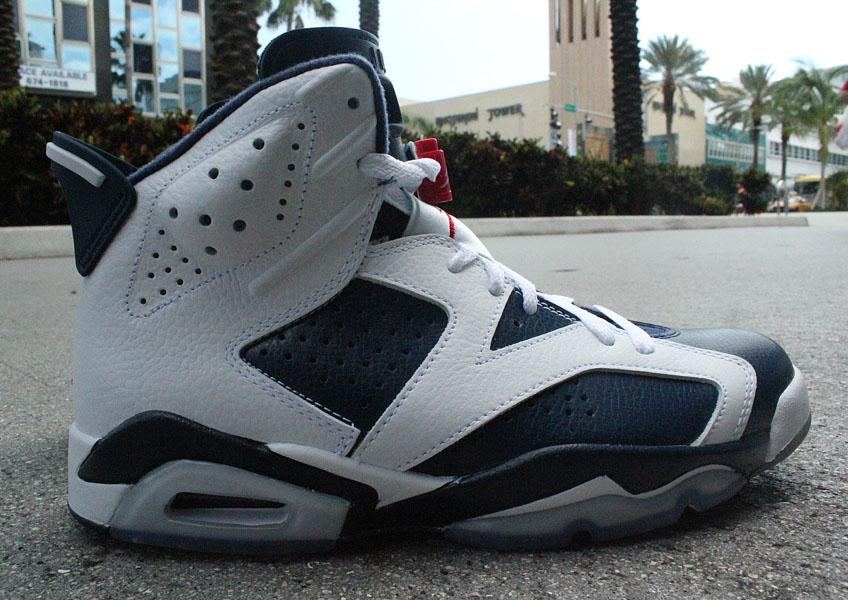 4007f1dec885a7 Air Jordan Retro VI 6 Olympic 384664-130 (1)