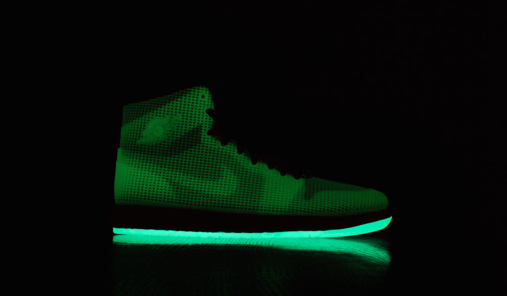 26099f67fa1 These Air Jordan 4LAB1s Glow | Sole Collector