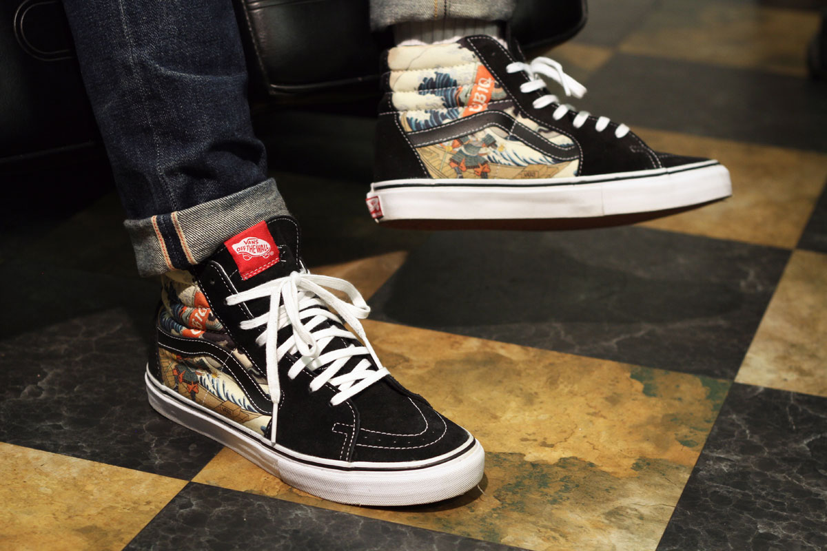 UBIQ x Vans Vault Three Tides Tattoo Sk8-Hi