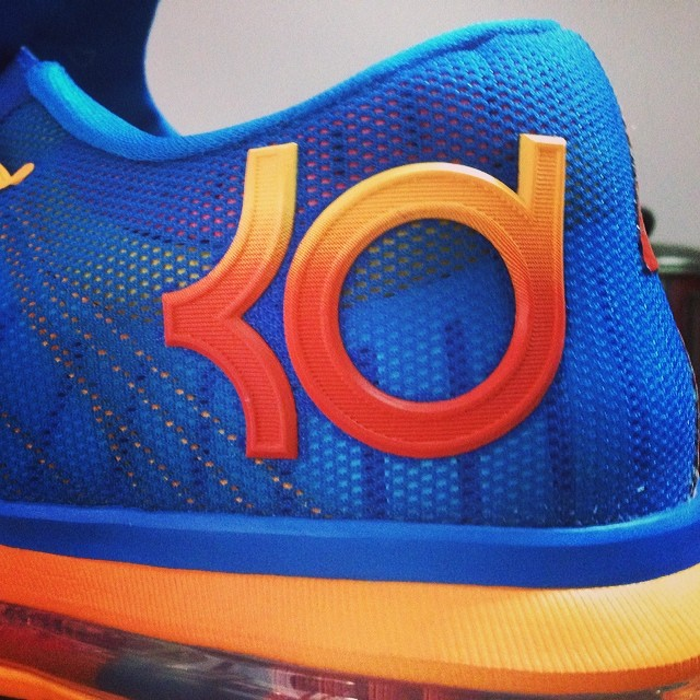 Nike KD 6 Elite Blue/Orange-Mango 642838-400 (4)
