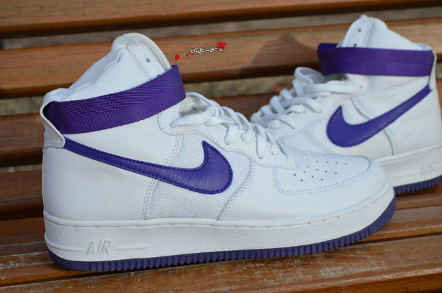 Spotlight // Pickups of the Week 12.29.12 - Nike Air Force 1 High LEA Mesh White Varsity Purple by af1 lova