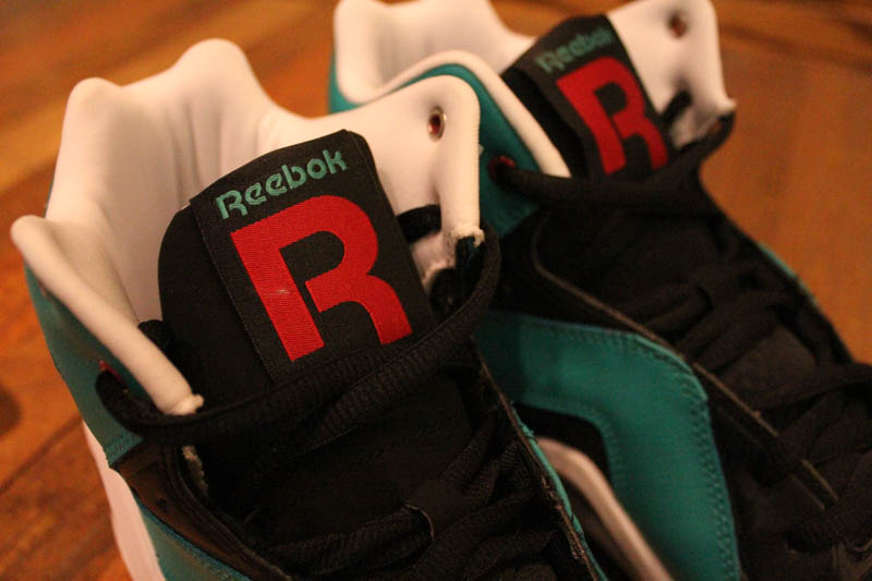 Reebok Kamikaze III - Black/Teal/Red/White - R23 Exclusive 6
