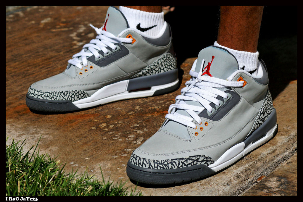 Spotlight // Forum Staff Weekly WDYWT? - 8.24.13 - Air Jordan III 3 Retro Cool Grey by I RoC JaYz23
