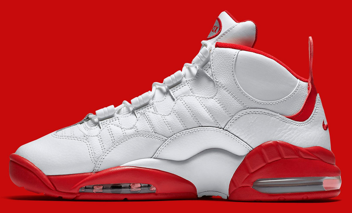 best sneakers c23ad 83337 Nike Air Max Sensation WhiteRed 805897-101 (3)