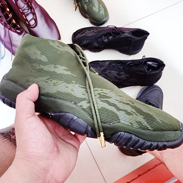 Air Jordan Future Tiger Camo Green (1)